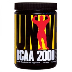 UNIVERSAL NUTRITION BCAA 2000 (120 КАПС.)