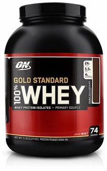 OPTIMUM NUTRITION 100% WHEY GOLD STANDARD (2273 ГР.)