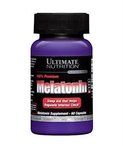 ULTIMATE NUTRITION MELATONIN 100% PREMIUM  (60 КАПС.)