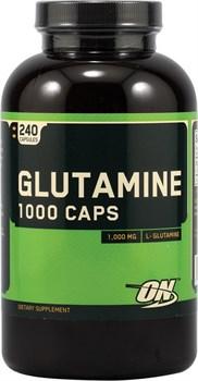 OPTIMUM NUTRITION GLUTAMINE 1000 CAPS (240 КАПС.)