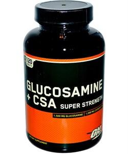 OPTIMUM NUTRITION GLUCOSAMINE PLUS CSA (120 ТАБ.)