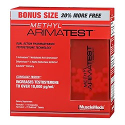 MUSCLEMEDS METHYL ARIMATEST (144 КАПС. +72 ТАБ.)