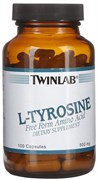 TWINLAB L-TYROSINE PLUS (100 КАПС.)