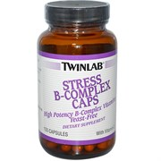 TWINLAB STRESS B-COMPLEX CAPS (100 КАПС.)