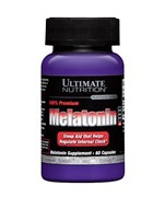 ULTIMATE NUTRITION MELATONIN 100% PREMIUM  (60 КАПС.)