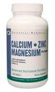 UNIVERSAL NUTRITION CALCIUM ZINC MAGNESIUM  (100 ТАБ.)